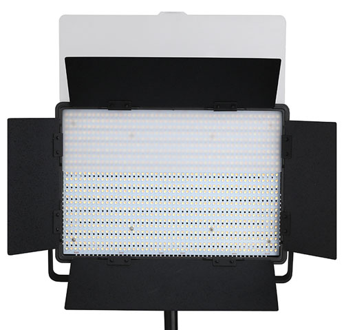 nanguang led fl chenleuchte cn 1200 sa high cri led light panel studioleuchte ebay. Black Bedroom Furniture Sets. Home Design Ideas