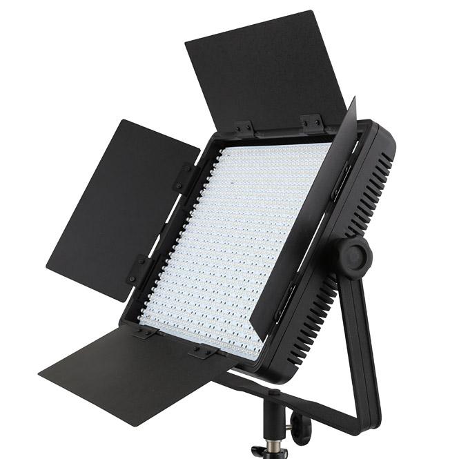 nanguang led videoleuchte videolicht fl chenleuchte cn 900 sa 900 led 8850 lux ebay. Black Bedroom Furniture Sets. Home Design Ideas