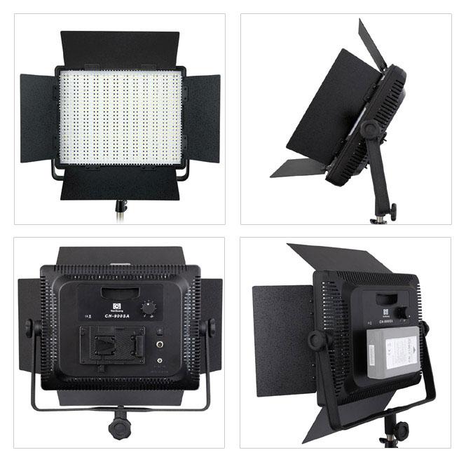 nanguang led videoleuchte videolicht fl chenleuchte cn 900 sa 900 led 8850 lux. Black Bedroom Furniture Sets. Home Design Ideas