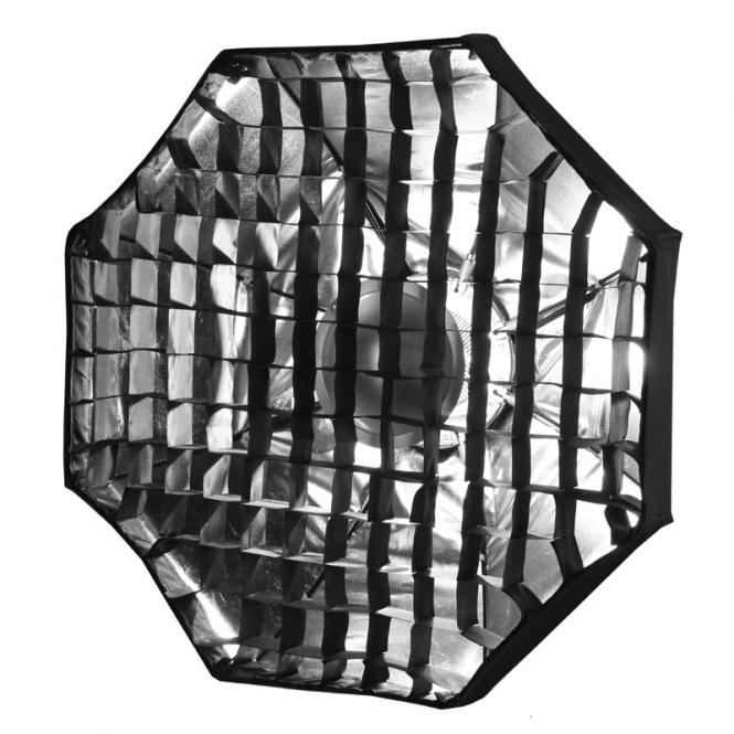 Details zu METTLE Mobiler Beauty-Dish weiß (Ø 60 cm) für BOWENS ...