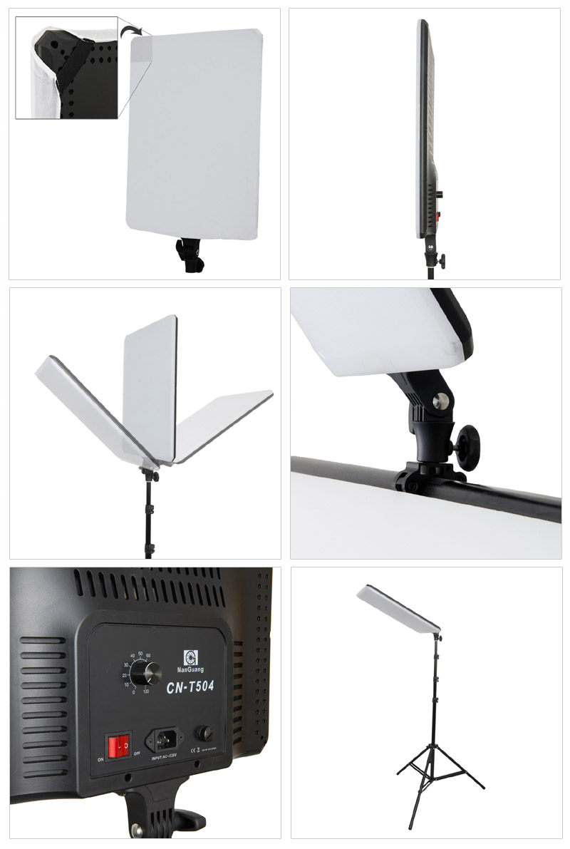 nanguang studioset dakota led mit aufnahmetisch 240x130 cm fototisch studiotisch ebay. Black Bedroom Furniture Sets. Home Design Ideas