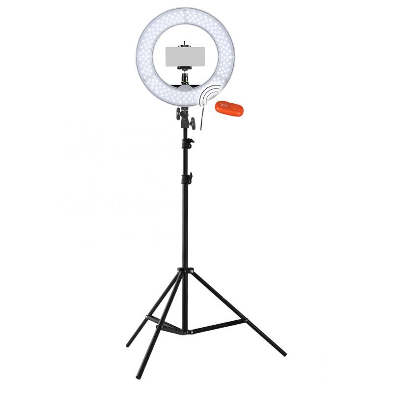 Foto & Camcorder Funtrend24 Foto Video Selfie-set Mit Ringleuchte Fotostudio-ringlicht Portrait Fotostudio-zubehör